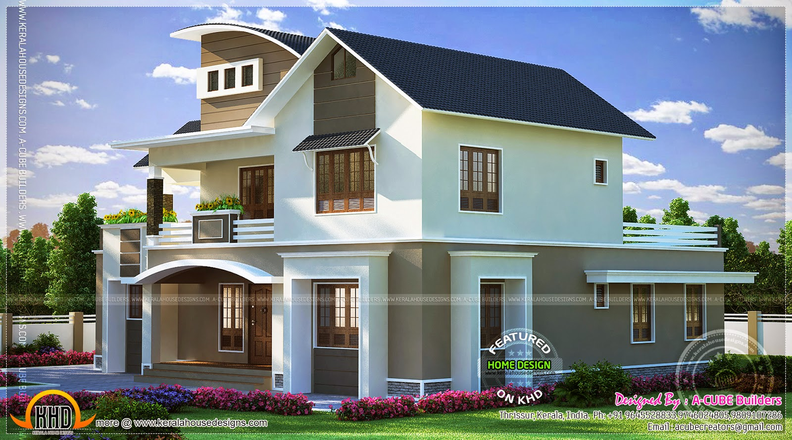 June 2014 kerala home design and floor plans for Kerala house plans 2014