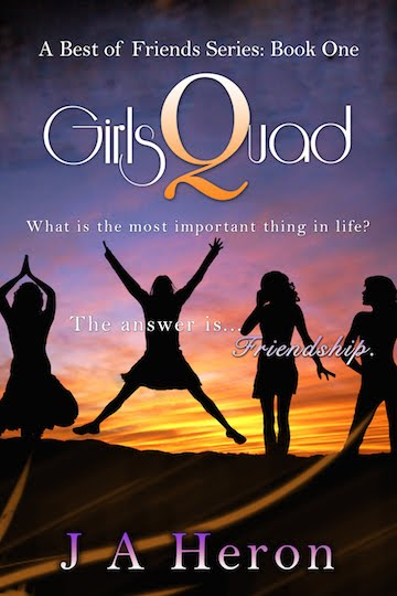 GirlsQuad - A Best of Friends Series: Book One