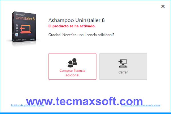 Ashampoo UnInstaller 8 00 11 Full Crack en Español + Portable