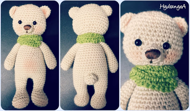 Cuddle me bear amigurumi de Amigurumi Today