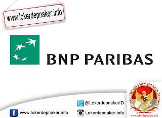 Loker PT Bank BNP Paribas