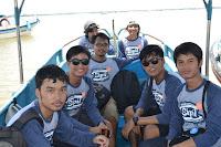 naik boat tanjung benoa,turtle island,pulau penyu