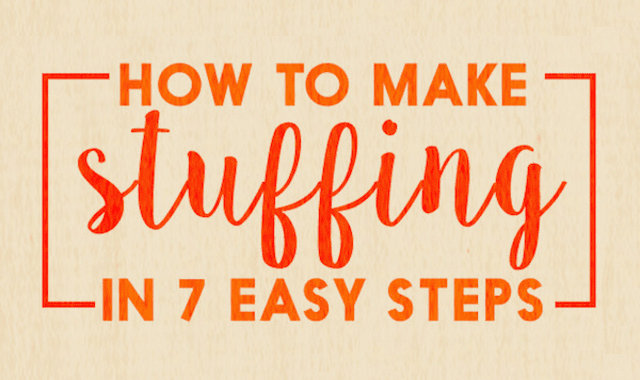 How To Make Stuffing In 7 Easy Steps