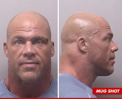 Kurt Angle DUI mugshot.  StrengthFighter.com