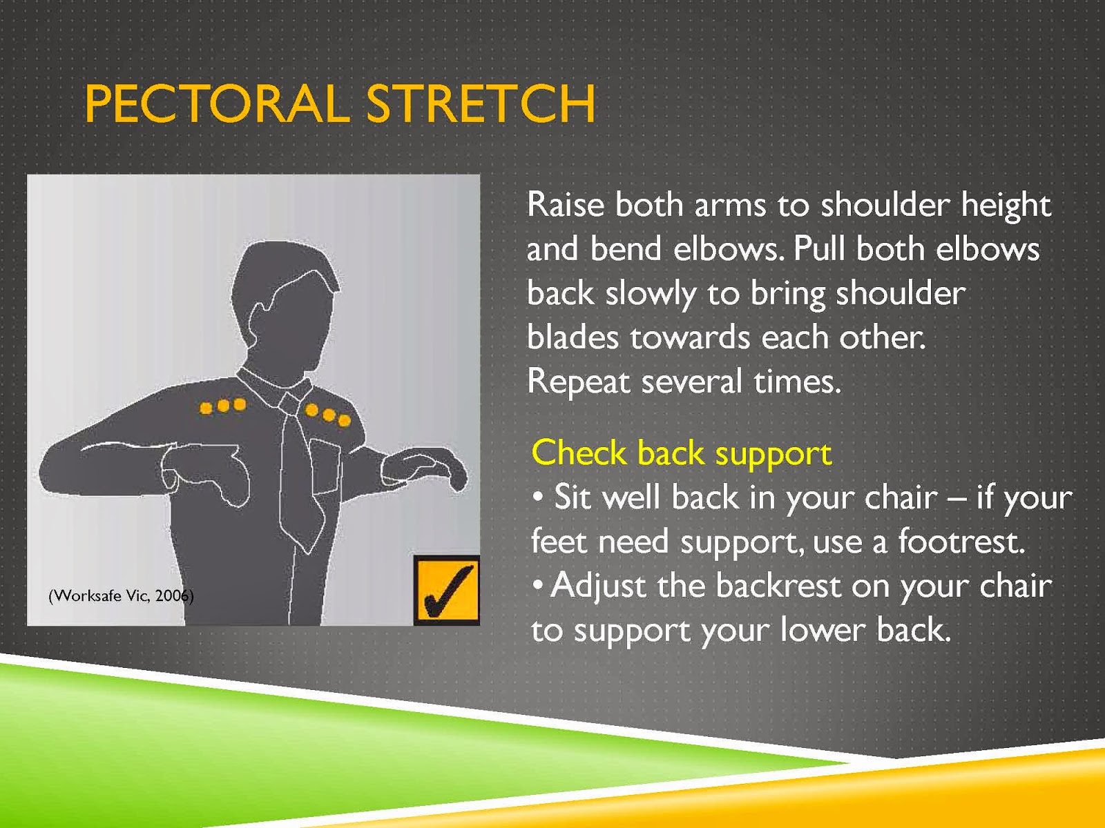PECTORAL STRETCH
