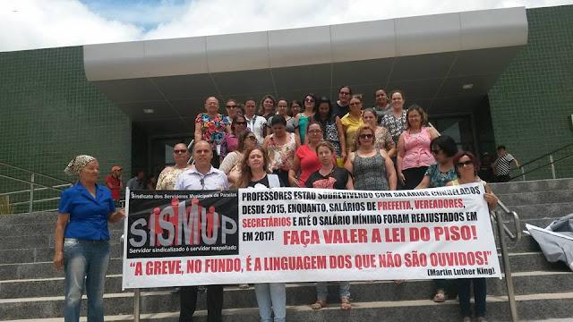 Professores em Panelas-PE protestam!