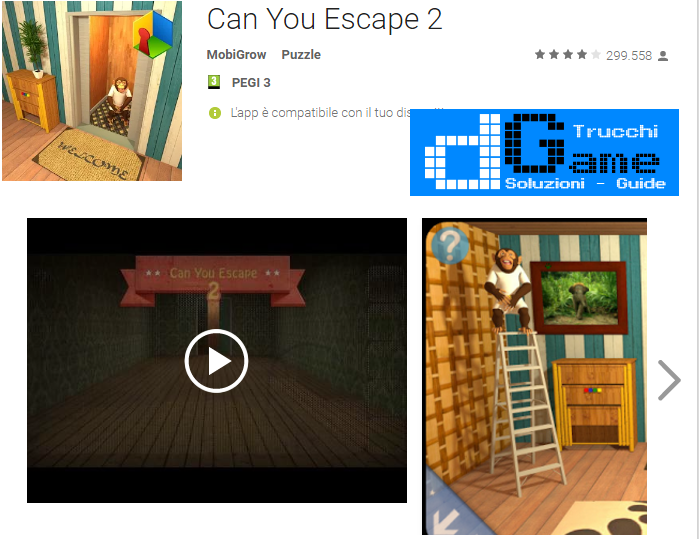 Soluzioni Can You Escape 2 livello 1-2-3-4-5-6-7-8 | Trucchi e Walkthrough level