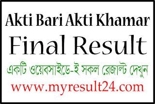 ekti bari ekti khamar final result