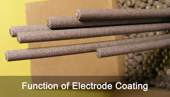 Function of Electrode Coating in Arc Welding