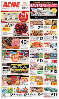 ⭐ Acme Ad 9/20/19 ✅ Acme Weekly Circular September 20 2019