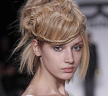 De última generación peinados extravagantes Fotos de las tendencias de color de pelo - Peinados y Moda: Peinados Extravagantes con Trenzas