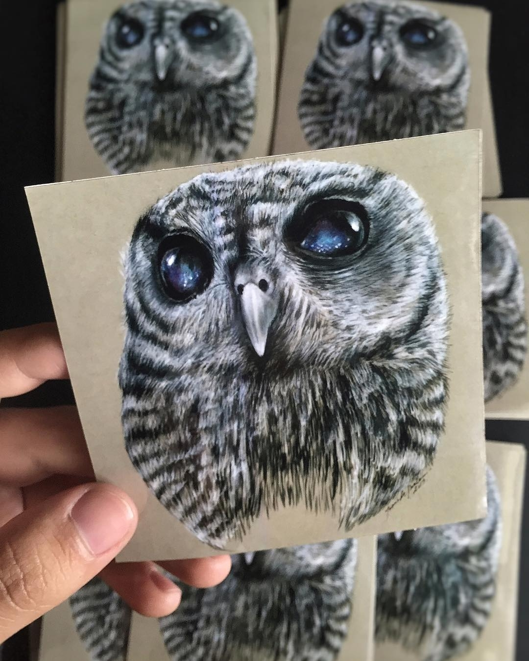 18-Zeus-the-Owl-Jonathan-Martinez-Art-of-the-Endangered-Paintings-and-Drawings-www-designstack-co
