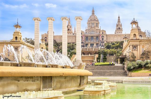 Barcelona, landscape, Park Guell, Spain, Esagne, Voyage, Trekking