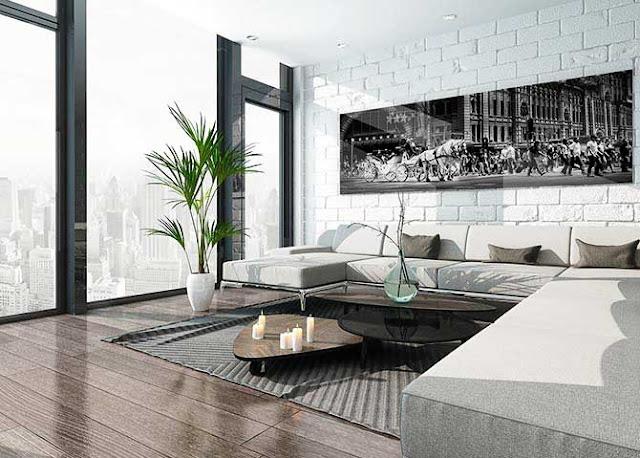 Minimalist ev dekorasyonu örnekleri