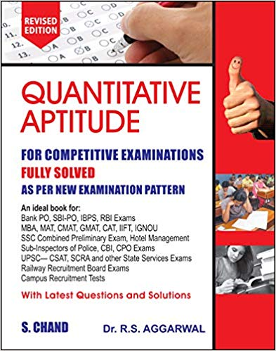 Quantitative Aptitude for Competitive Examinations @ 437 /-