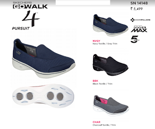#Walking is a Sport with SKECHERS GOwalk 4TM