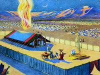 Eventually, Moses completed the tabernacle.