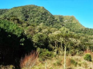 Morro do Trombudo, em Bom Retiro