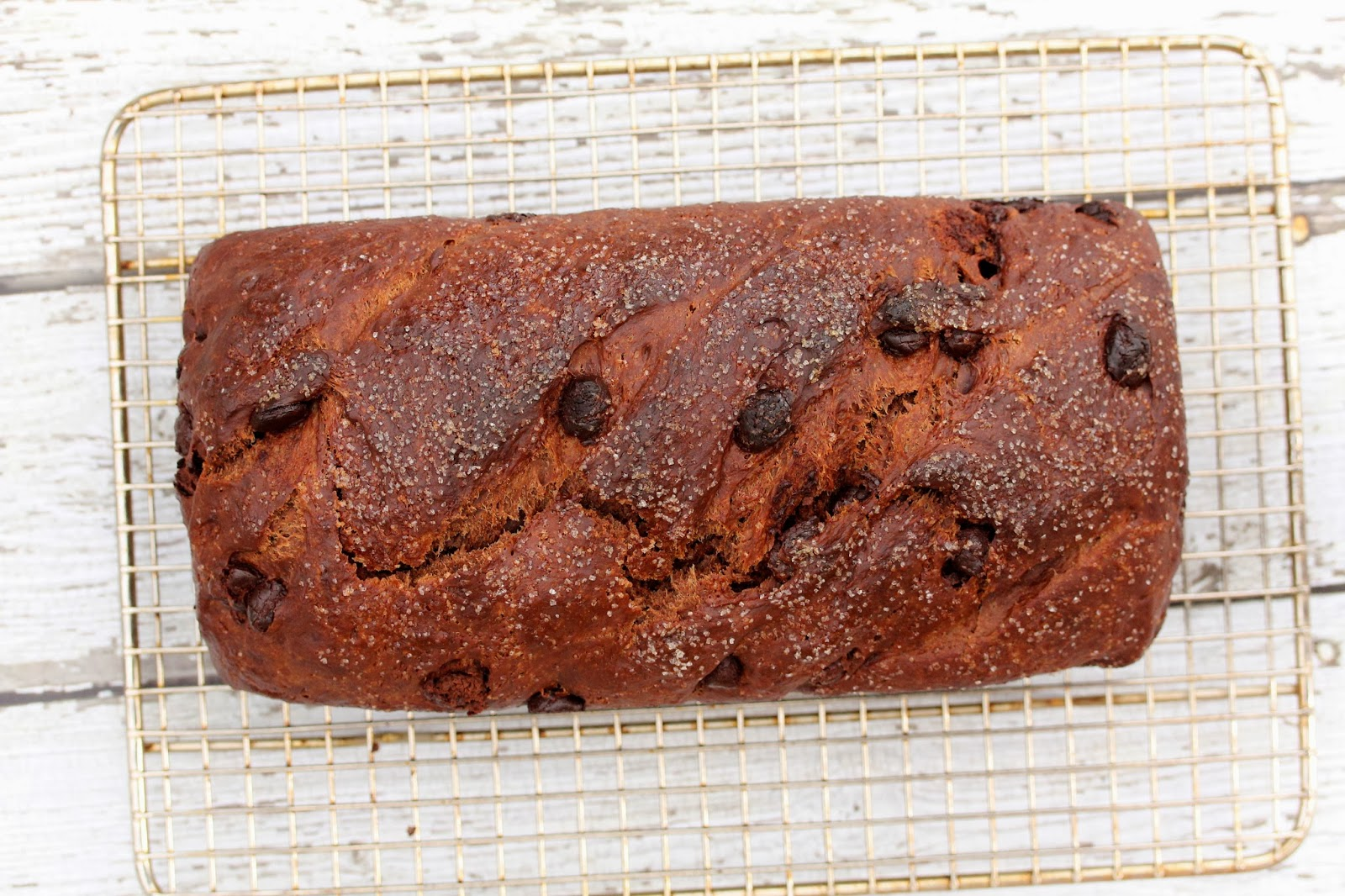 No Knead Chocolate Bread Dough for Chocolate Chip Bread