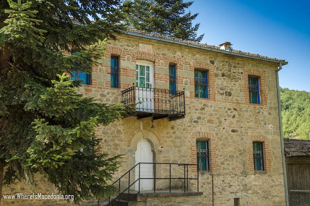 Traditional architecture - Ljubojno village, Prespa Region, Macedonia