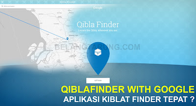 Qibla Finder Tepat Google Maps GPS