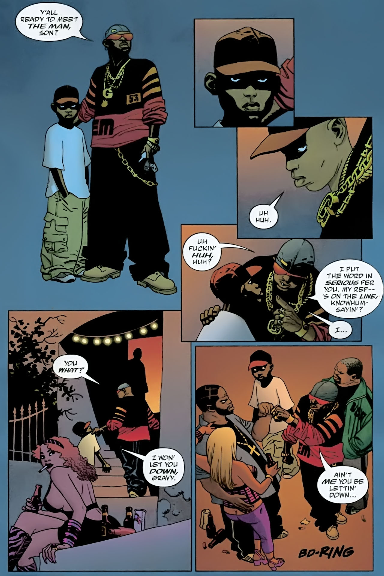 Read online 100 Bullets comic -  Issue #89 - 12