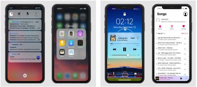Tema Keren Xiaomi 99% Mirip iPhone XS Max