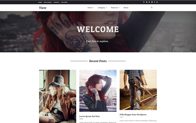 View Responsive Blogger Template