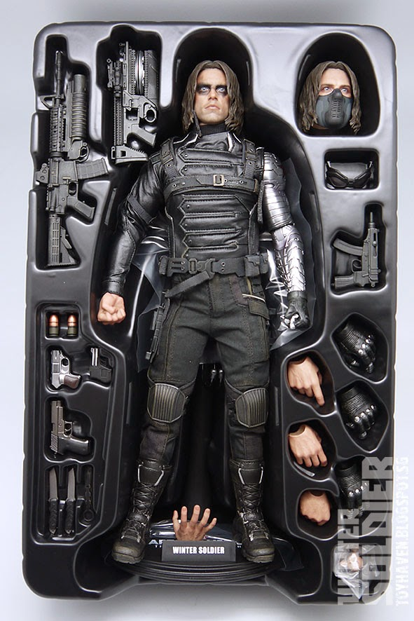 Hot Toys Captain America The Winter Soldier NICK FURY Figure 1//6th Scale FISTS