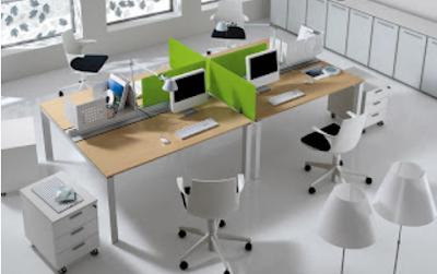 model kantor minimalis modern