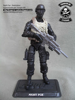 custom gi joe night fox