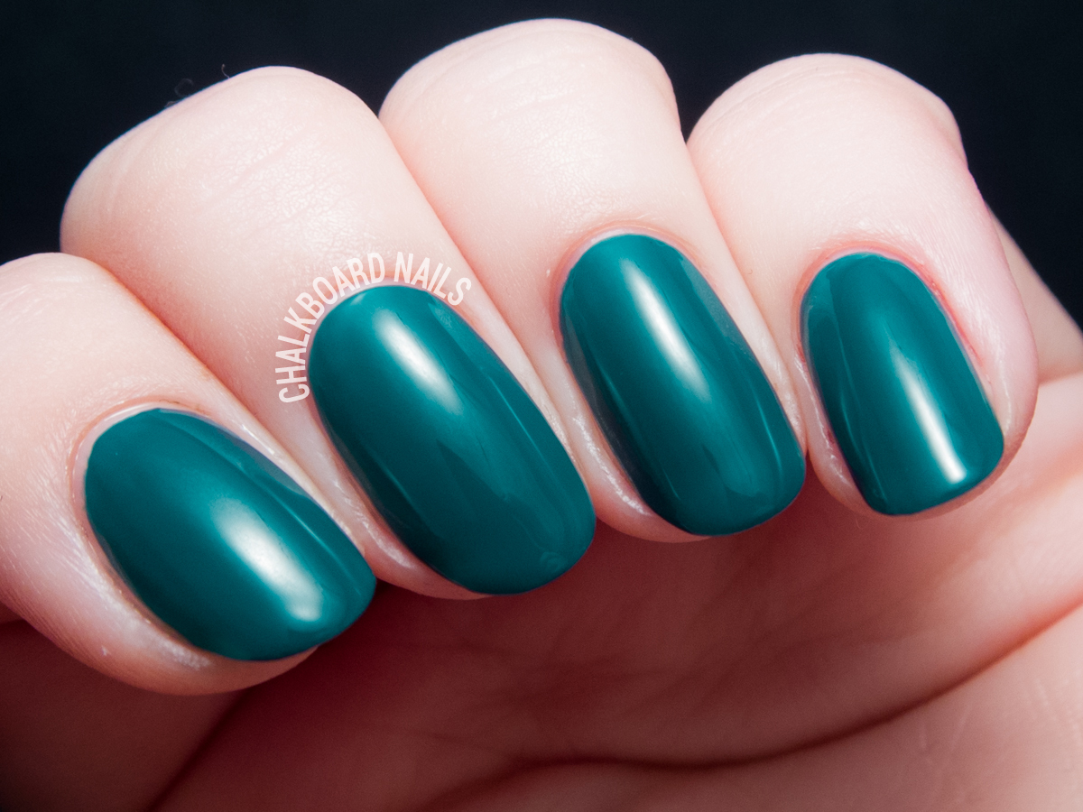 Cirque Colors Tavern On the Teal via @chalkboardnails