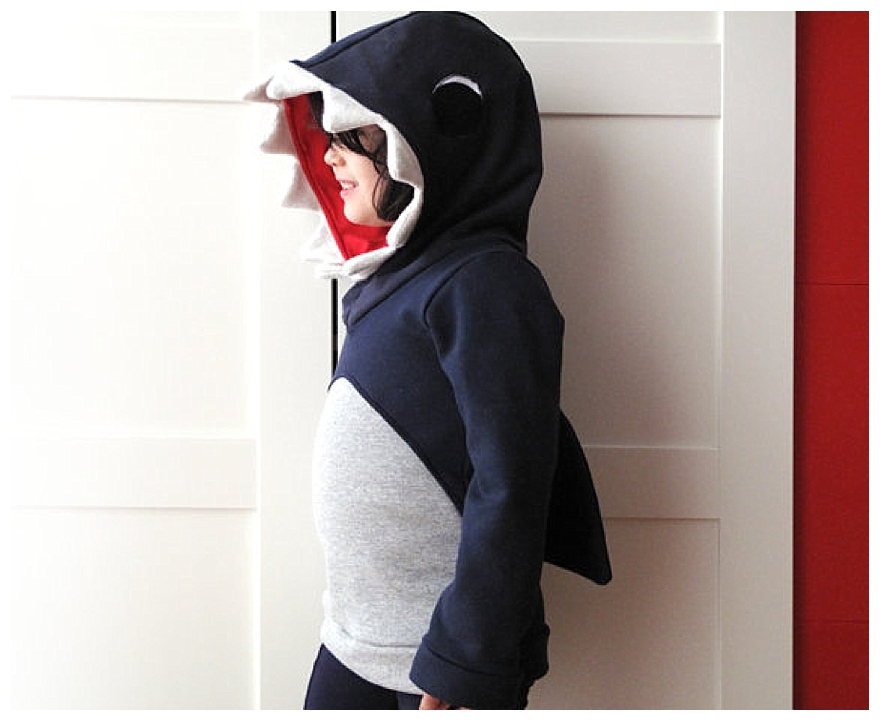 Fun Shark Hoodie From A Boutique Seller The Sandpit