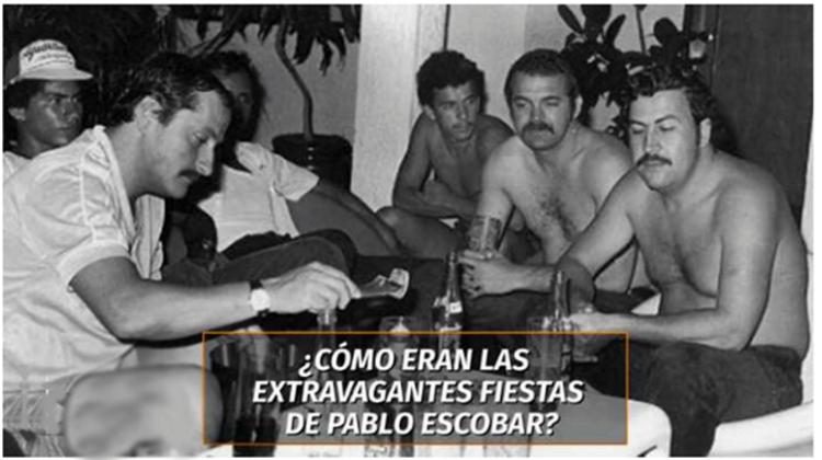 """""""SEXO,DROGA y ROCK & ROLL"""" en BACANALES del CAPO ESCOBAR,REVELA MANAGER de ARTISTAS"""