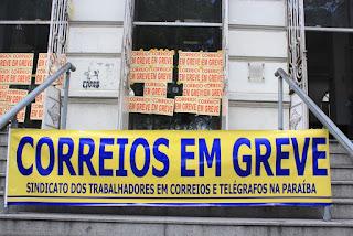 Correios decidem entrar em greve a partir de segunda-feira