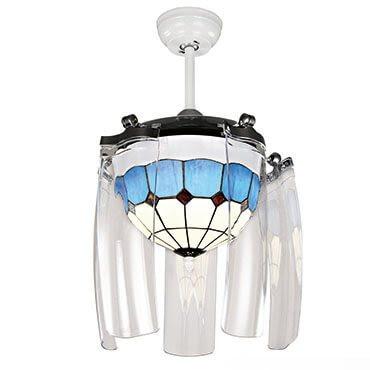 Xu hướng sử dụng quạt trần có đèn chùm trong trang trí nội thất năm 2019