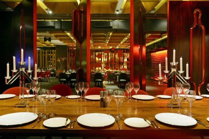 thiết kế thi công nhà hàng,nhà hàng sang trọng