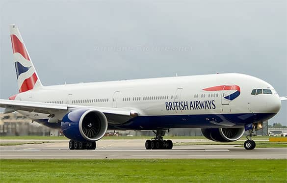 Pesawat Terbang Terbesar Milik British Airways Boeing 747-300