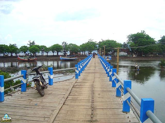 Jembatan Pulau Santen Banyuwuwangi