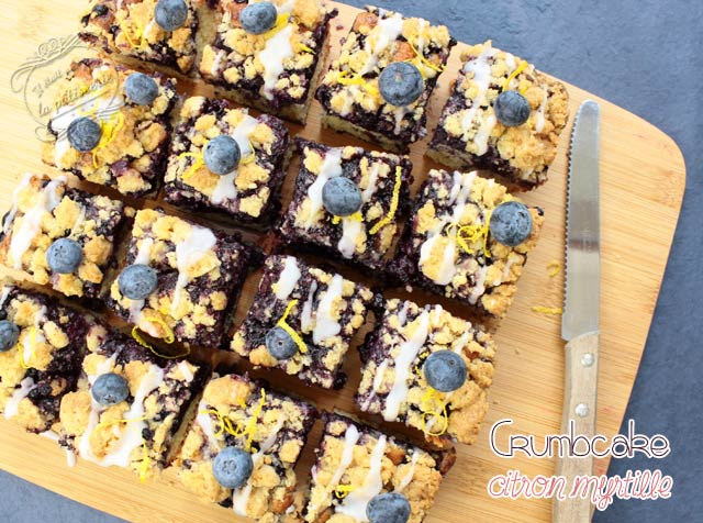recette crumb cake