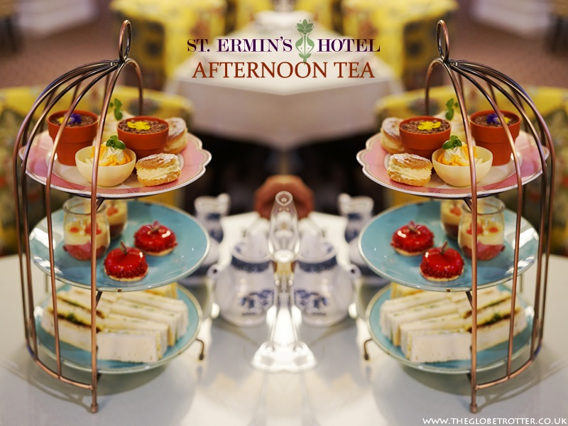 St Ermin's Garden Afternoon Tea