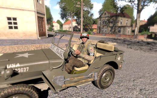 Arma 3 に第二次大戦時のアメリカ軍警察ユニットを追加するMOD
