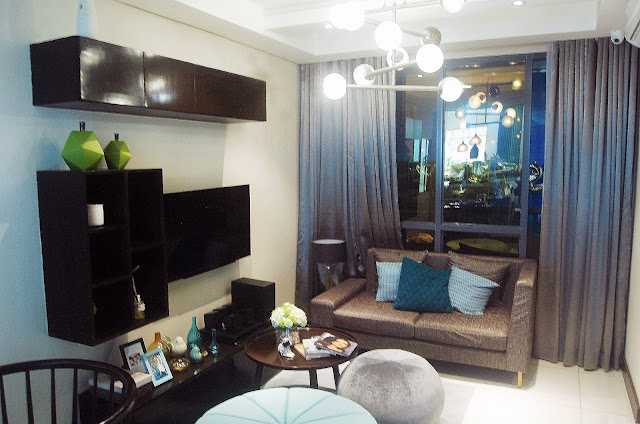 One Manchester living room at Mactan Newtown