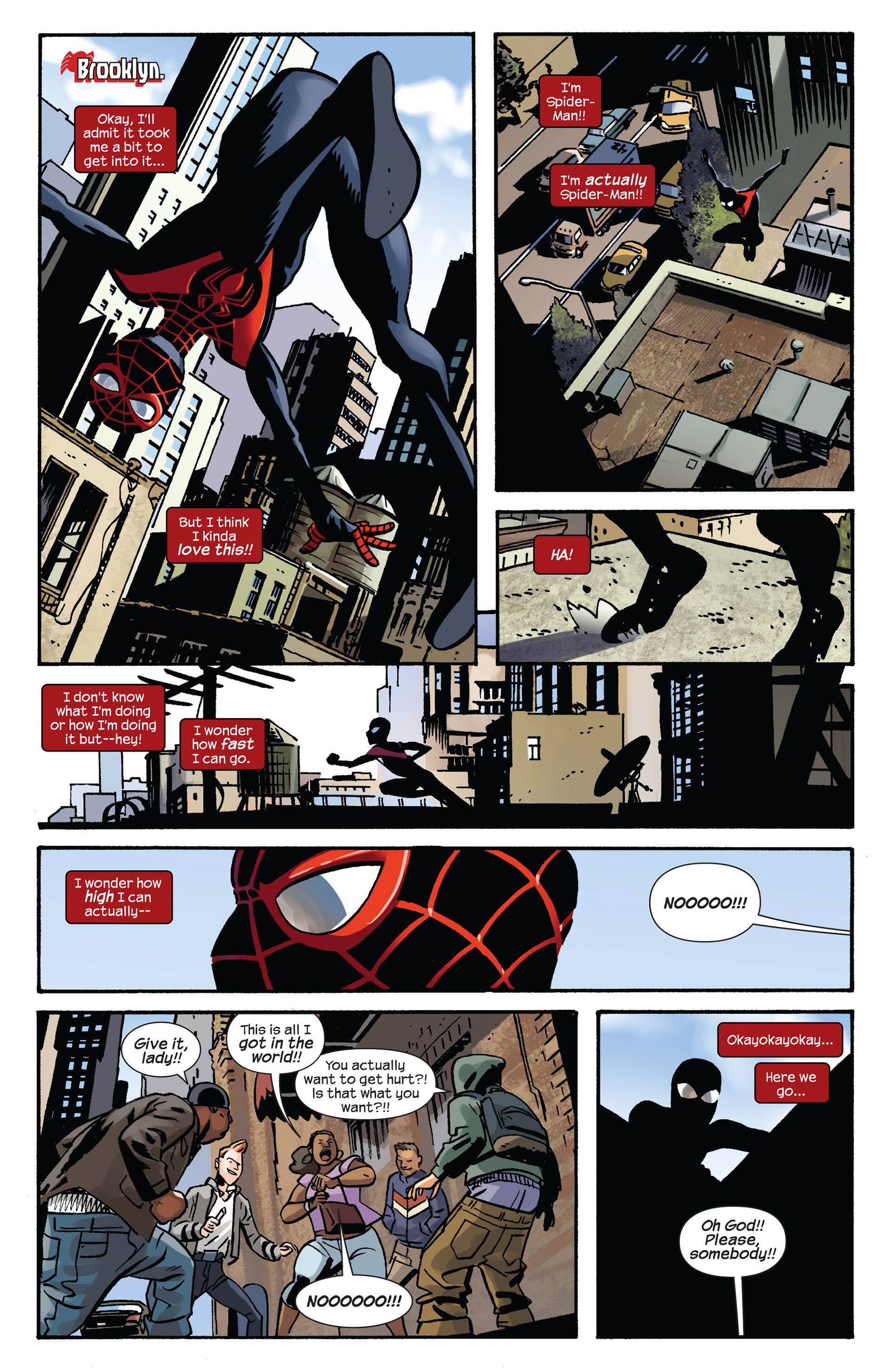 Read online Ultimate Comics Spider-Man (2011) comic -  Issue #6 - 6