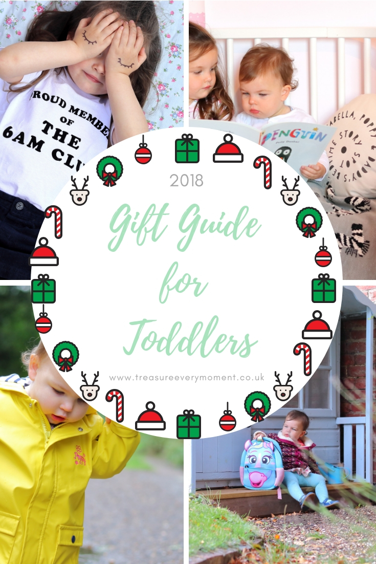 CHRISTMAS GIFT GUIDE: For Toddlers 2018