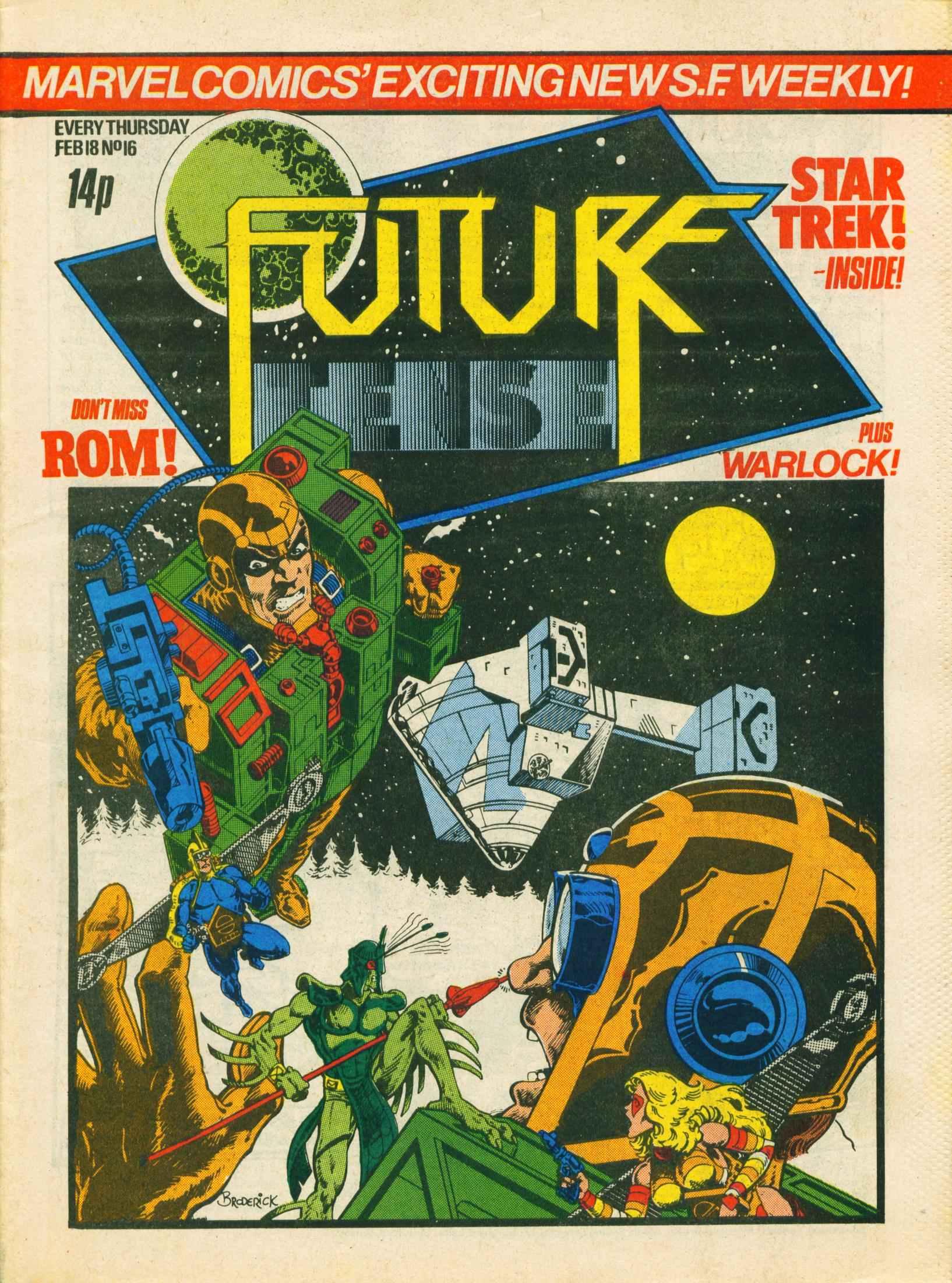 Read online Future Tense comic -  Issue #16 - 1