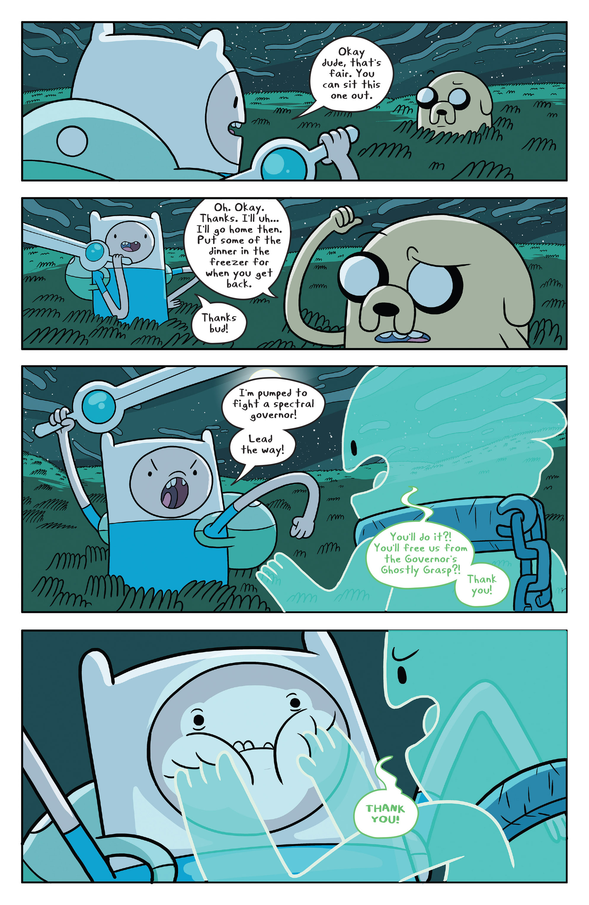 Read online Adventure Time comic -  Issue #51 - 14