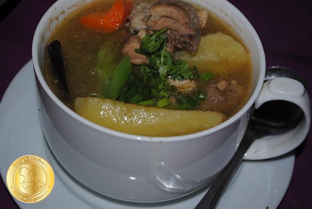 Y En Potato Soup Sup Ayam Berempah