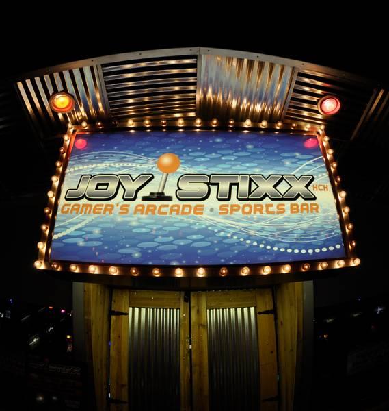 Joystixx na Strip em Las Vegas