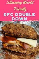 kfc doubledown slimming world recipes